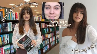 buying books, going thrifting, & crying over harry styles | an average day in my life