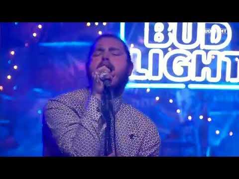Post Malone - I Fall Apart - Perforance Bud Light Dive Bar Nashville - Live Concert