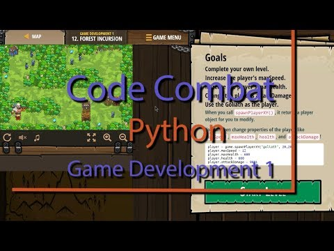 Code Combat Forest Incursion Level 12 Python Game Development Tutorial thumbnail