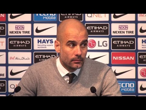 Manchester City 0-0 Stoke - Pep Guardiola Full Post Match Press Conference