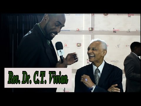 Civil Rights leader Rev. Dr. C.T. Vivian speaks on his legacy & shares his feelings on President #45