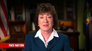 Sen. Susan Collins says President Trump should not comment further on Russia investigations