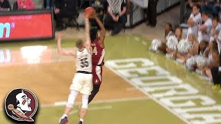 Florida State's Terance Mann With A Grown Man Steal And Dunk