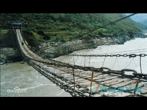 Jinlong bridge—the most ancient bridge in Yangtze river金龙桥—长江上最古老的桥