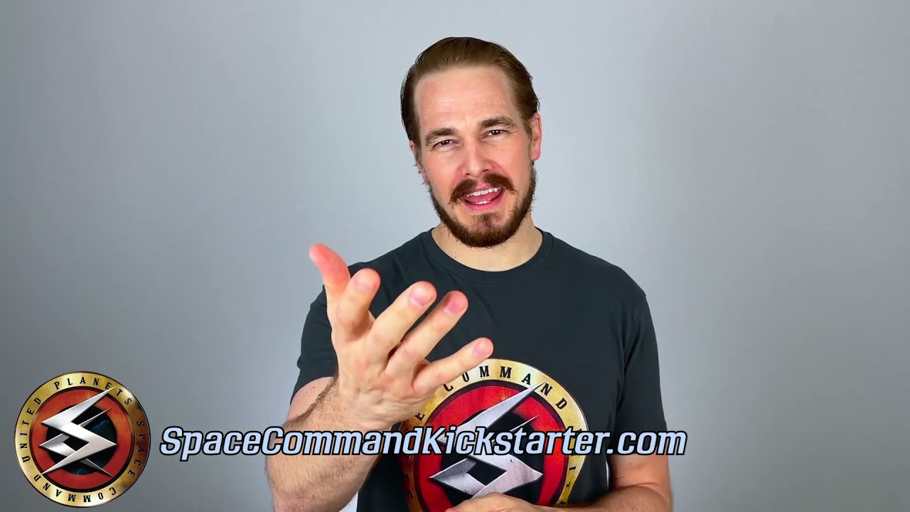 Space Command's Captain Jack Kemmer -- Ethan McDowell -- Talks to you!