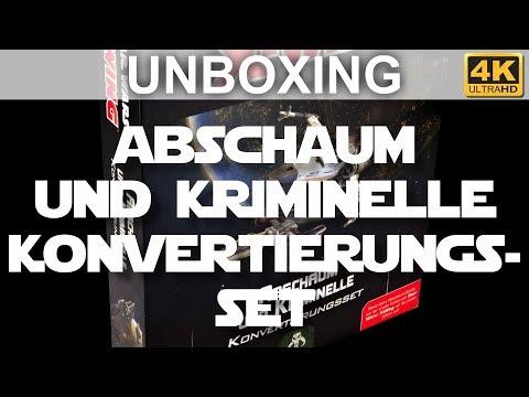 Star Wars X-Wing 2. Edition: Abschaum Und Kriminelle Konvertierungsset - Unboxing (4K)