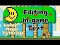Lunar Magic: Editing Text in Super Mario World