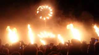 Фейерверк 8 сентября 2013г., Москва. Пиротехническое шоу Groupe F на Поклонной горе (часть 1)