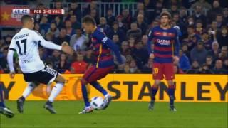 Neymar vs Valencia Home HD 1080i (03/02/2016) by 1900FCBFreak