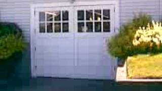 Swing Out Carriage Garage Doors