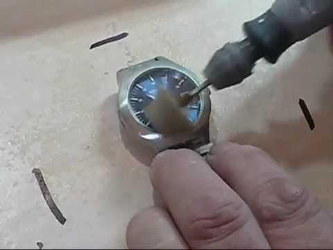 watch crystal glass scratch removal polishing using the kit by ians polishing kits on ebay uk youtube - How To Polish Glass