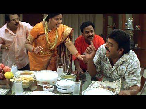 Jai Chiranjeeva Movie || Chiranjeevi And Venu Madhav DRUNK Hilarious Comedy Scene