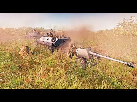 INSANE Battle for German High Ground 1941 | RobZ Realism | Men of War: Assault Squad 2 Gameplay