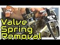 How to Remove Valve Springs (Overhead Valve Removal Tool) • Cars Simplified
