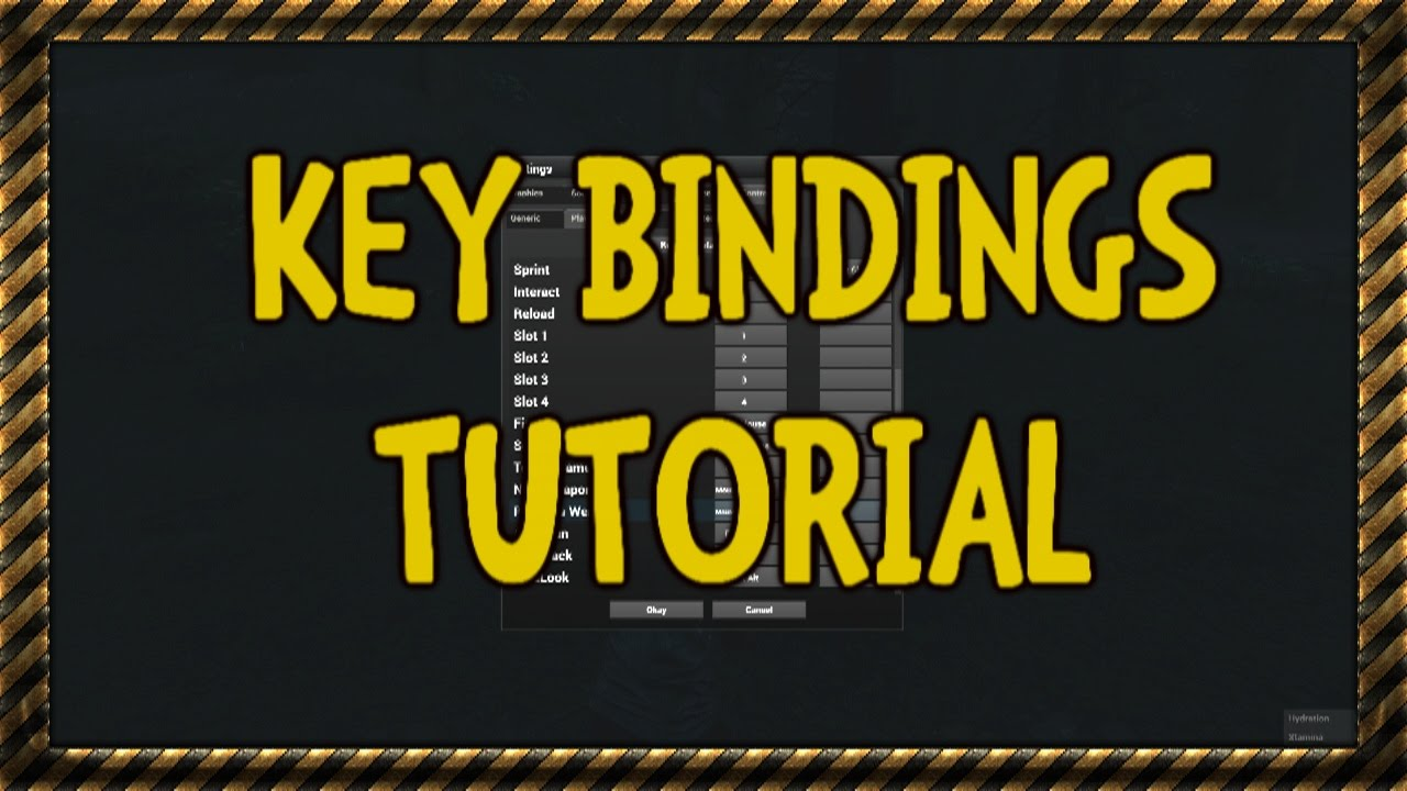 how to set my bindings