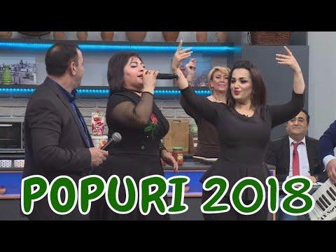 Telli Borcali, Asiq Mubariz ve Sevil Isgenderli - POPURI 2018