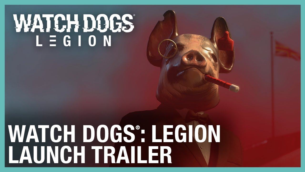 Watch Dogs: Legion: Launch Trailer | Ubisoft