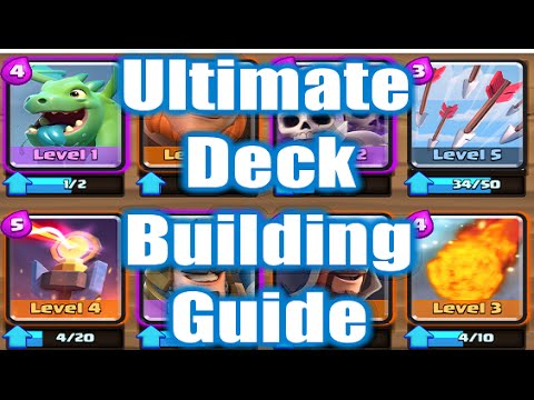 Clash royale ultimate deck building guide for beginners for Clash royale deck arc x