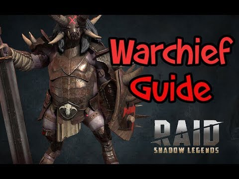 Warchief guide Raid Shadow Legends