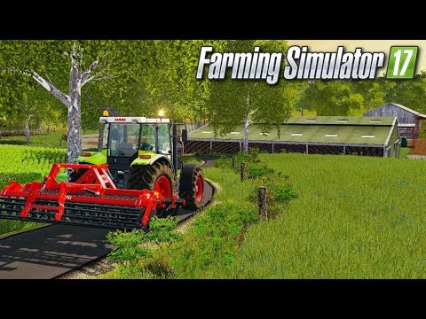 UNE PETITE MAP FRANÇAISE BIEN SYMPA !!! 😍 (Grande campagne) - Farming simulator 17