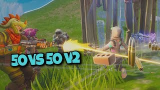 BEST 50 VS 50 PLAYER!!! - Fortnite 50 vs 50 v2