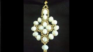 PAP de um Lindo Brinco com Acabamento de Semi joias LUZ DOURADA – Maguida Silva