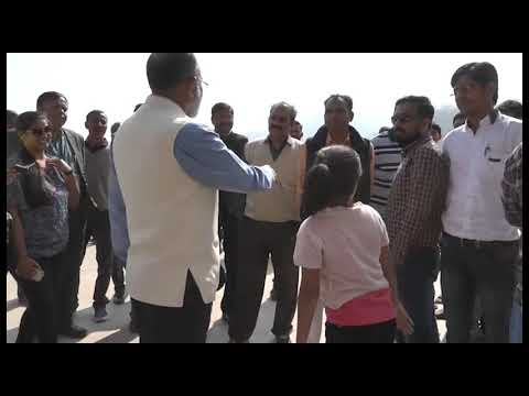 Union Tourism Minister Alphons Kannanthanam visits Statue of Unity in Gujarat