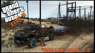 GTA 5 ROLEPLAY - ROLLIN COAL ON COPS ENDS IN TROUBLE - EP. 287 - CIV