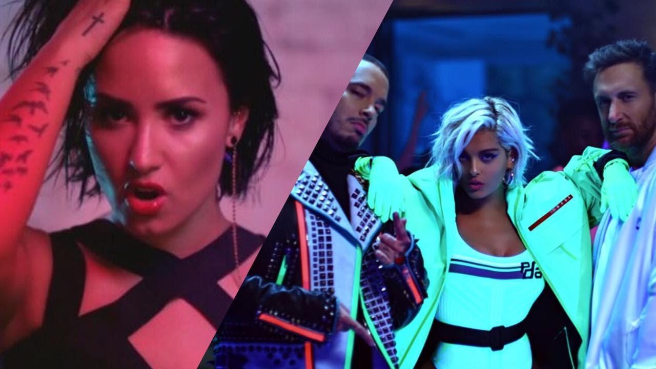David Guetta, Bebe Rexha, Demi Lovato & J Balvin - Say My Name (Music Video)