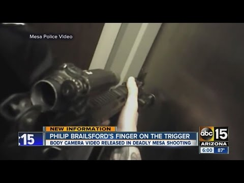 VIDEO: Body cam released in deadly Mesa shooting