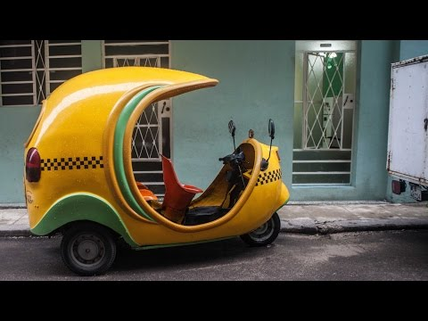 The Coco Taxi in Havana