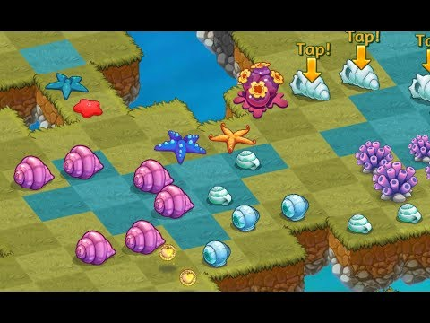 Merge Dragons - Finishing Earth Day Event by Gathering Level 5 and 4 Starfish for Seashells