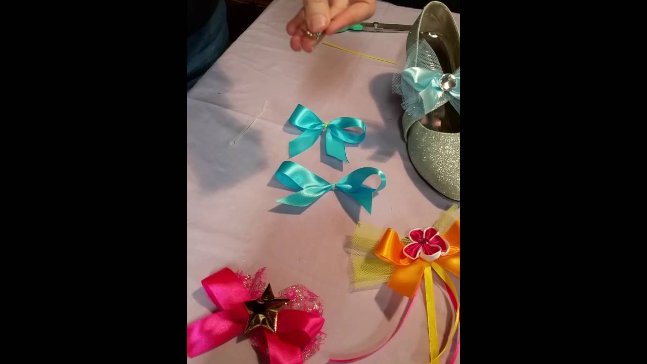 Well known DIY TAP SHOE BOWS by www.angelbows.com.au - YouTube KL98