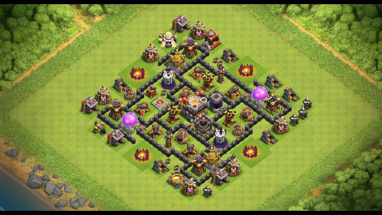 Undefeated Coc Th 7 Best Base 3