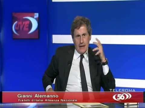 Gianni Alemanno dice no ai matrimoni gay