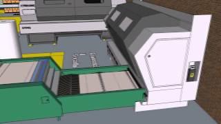 Planta de reciclado de papel , Proceso