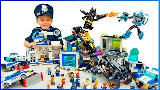 Полиция Лего Сити и Мобильный Командный Центр 60139. Бэтмен и мотоцикл 42058. Арест банды Магнето