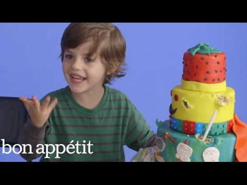 5-Year-Old George Imagines His Dream Cake | Most Amazingest Cakes