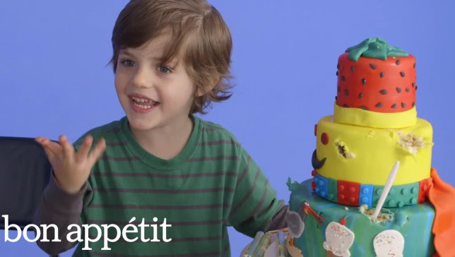 5-Year-Old George Imagines His Dream Cake | Most Amazingest Cakes