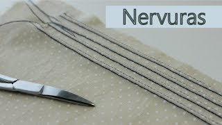 Como fazer nervuras no tecido