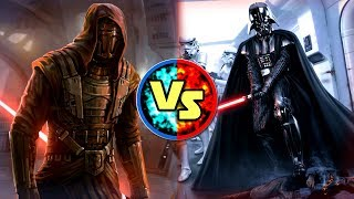 Star Wars Versus: Darth Revan VS. Darth Vader - Star Wars Basis Versus #8