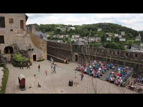 Ardenne All Access - la visite du château de Bouillon