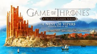 "GAME OF THRONES – Episode 5 ""A Nest of Vipers"" (Telltale Series) All Cutscenes 1440p 60FPS"