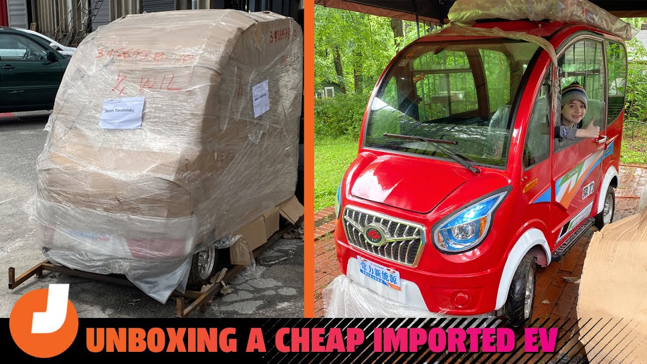Watch Unboxing A 1 000 Mail Order Electric Car From China
