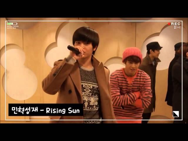 BTOB SungJae Singing DBSK TVXQ Rising Sun