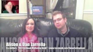How to market your brand on Facebook w/ Dan & Alison Zarrella (Interview; 1 of 3)