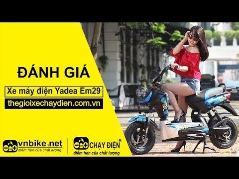 Đánh giá xe máy điện Yadea EM29