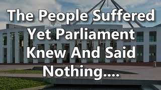 Adams/North - 1. The People Suffered Yet Parliament Knew And Said Nothing...