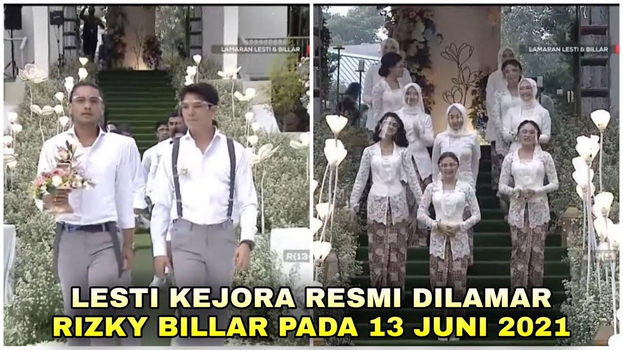 13 Momen Syahdu Lamaran Lesti Kejora dan Rizky Billar Bak Film India!