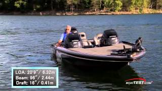 Nitro Z-9 Test 2014 with one 250-hp Mercury OptiMax Pro XS- By BoatTest.com